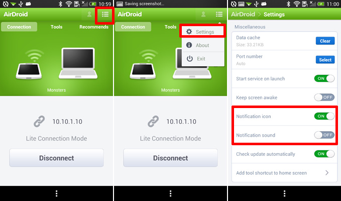Disable-Notification-Sound-on-AirDroid