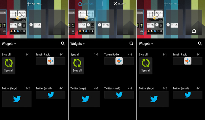 Set a Panel as Home Panel on HTC One