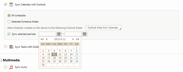 Sync Calendar with Outlook