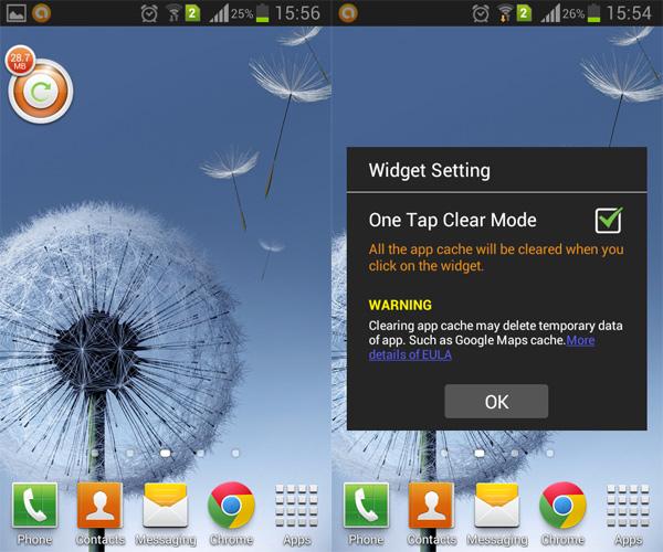 App-Cache-Clenar-Widget