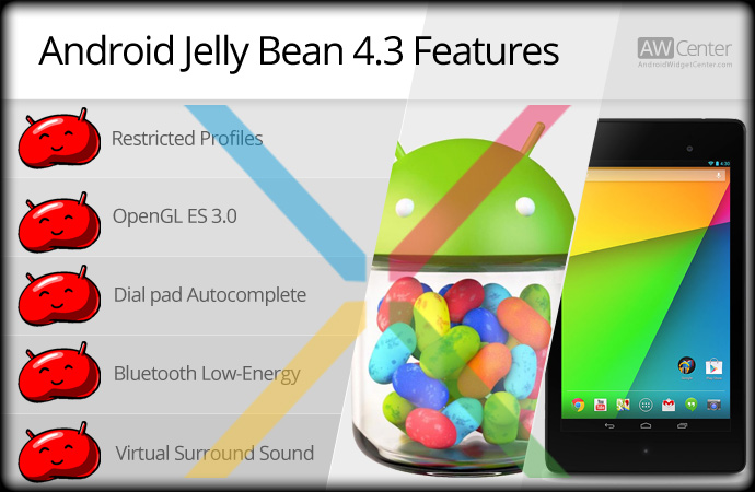 Android Jelly Bean 4 3 Features | AW Center