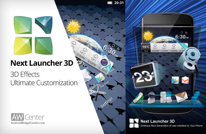 Next-Launcher-3d