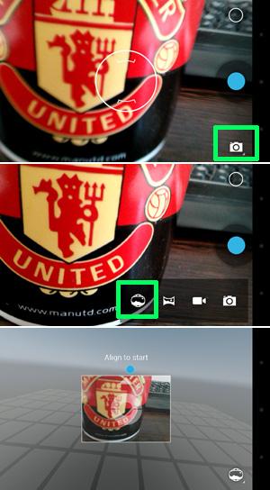 Photo Sphere on Nexus 4