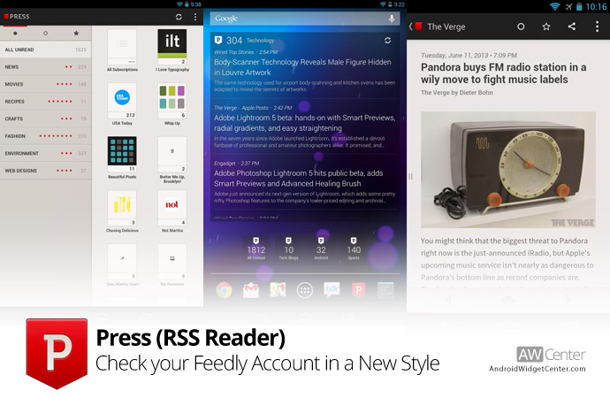 RSS-Reader-for-Android