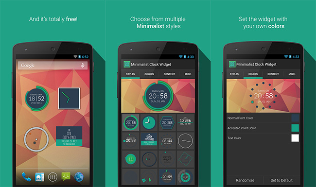 07-Best-Android-Clock-Widgets-Minimalist-Clock-Widget