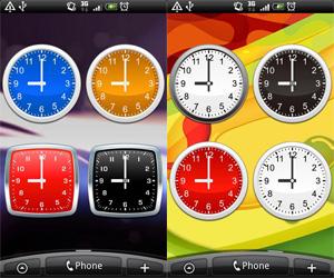 Analog-clocks-widget