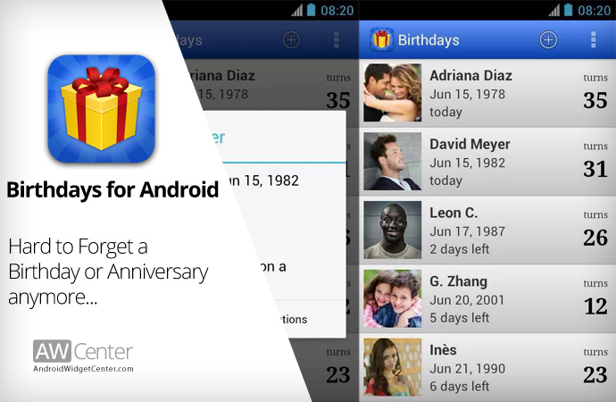 Android-Birthday-Reminder