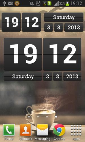 Android-Retro-Clock-Widget-