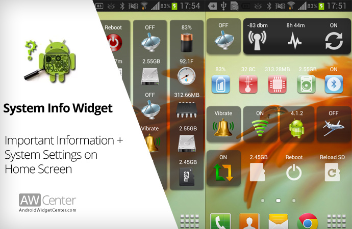Android-System-Info-Widget