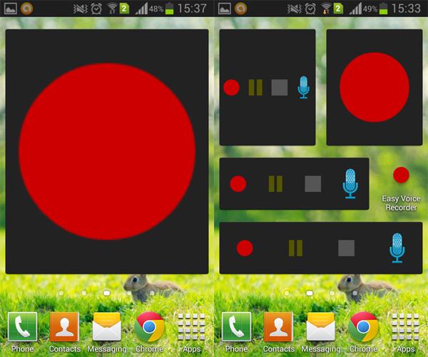 Android-Voice-Recorder-Widget