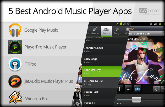 Best Android Music Player Apps In [Free & Paid]