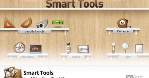 Smart Tools A Set Of Measurment Tools On Android Aw Center