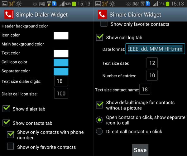 Simple-Dialer-Widget-Settings