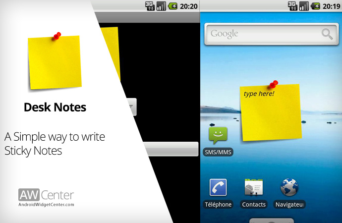 Simple-Note-Taking-Widget