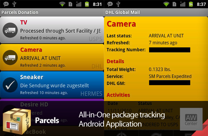 All-in-One-package-tracking-app