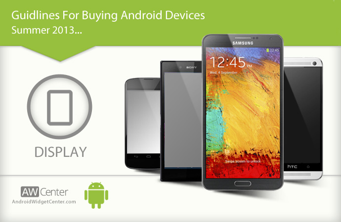 Different Types of Android Display