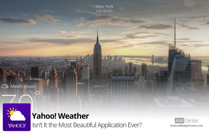Yahoo-New-Weather-Widget
