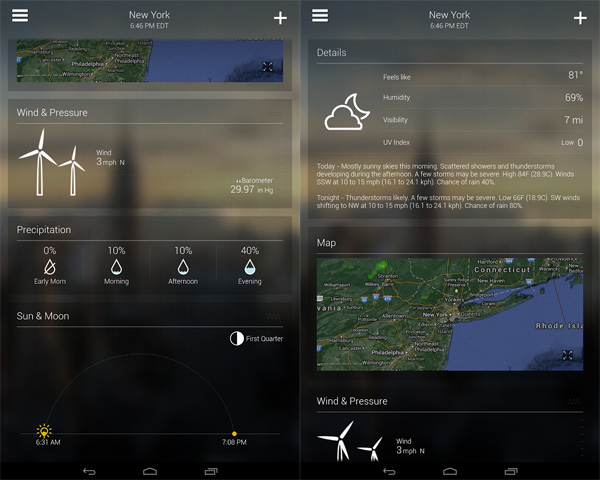 Yahoo-Weather-Details