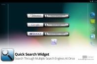 Quick-Search-Widget