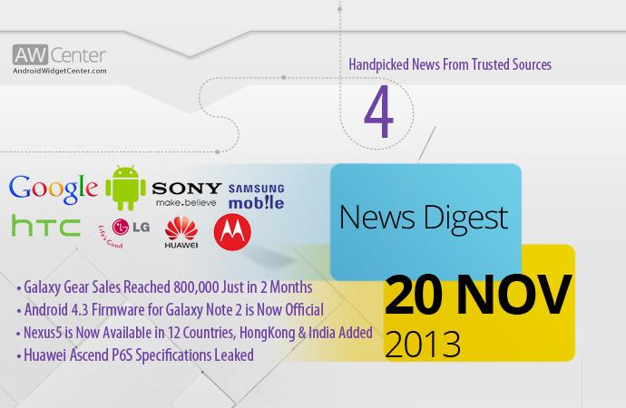 Android-News-20-November