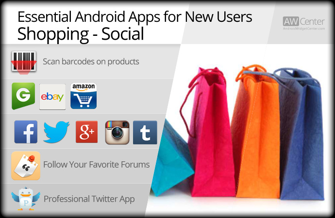 Essential-Android-Apps-for-Shopping-Social