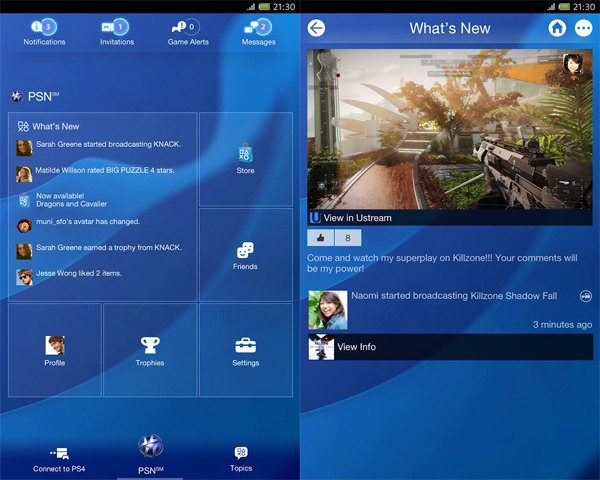 PS4-Android-App