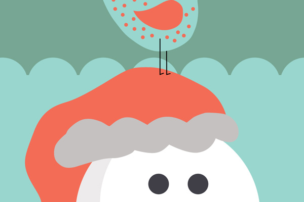 01---Android-Wallpaper---Snowman-Preview