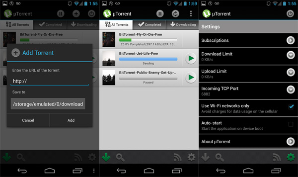02-µTorrent-Torrent-App