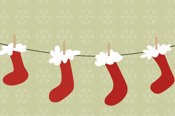 02---Android-Wallpaper---Santa--Socks-Preview