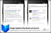 Google Updates Play Books and Search