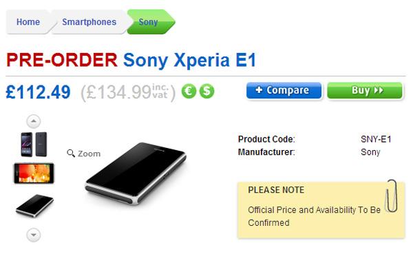 PRE-ORDER-Sony-Xperia-E1-from-Clove