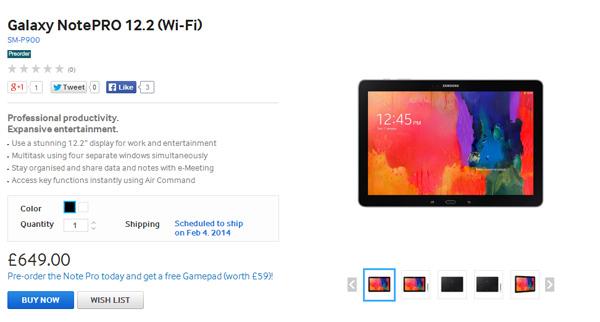 Pre-order-Galaxy-NotePRO-12.2-(Wi-Fi)-in-UK