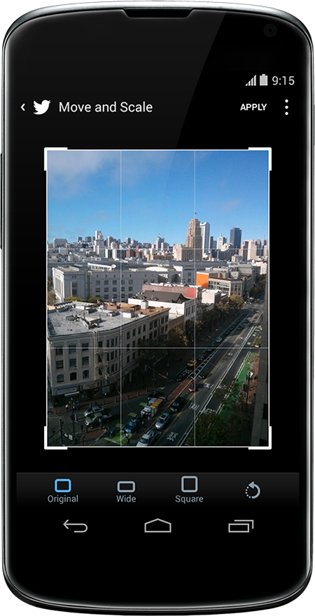Twitter App Update - Photo Sharing Enhancements