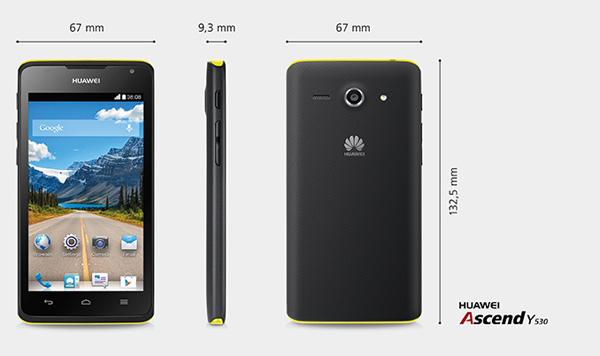 Huawei-Ascend-Y350-Dimension