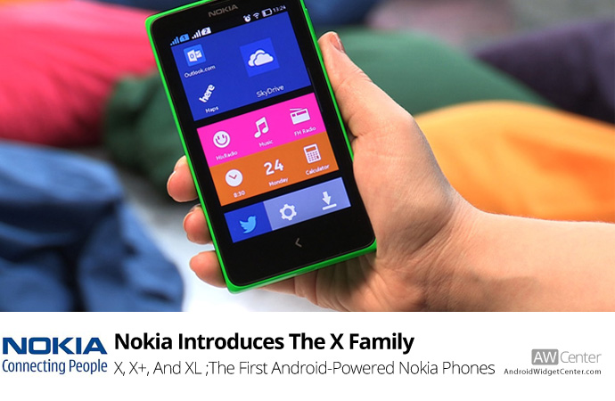 Nokia Introduces The X Family