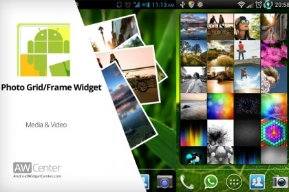 Photo Grid/Frame Widget