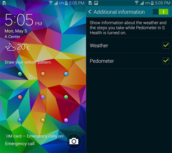 Customize-Galaxy-S5-Lock-Screen-Weather