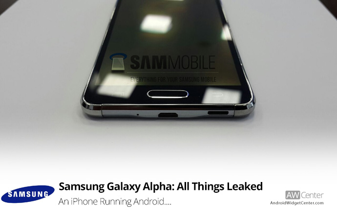 Samsung Galaxy Alpha Features, Specs, and Images…