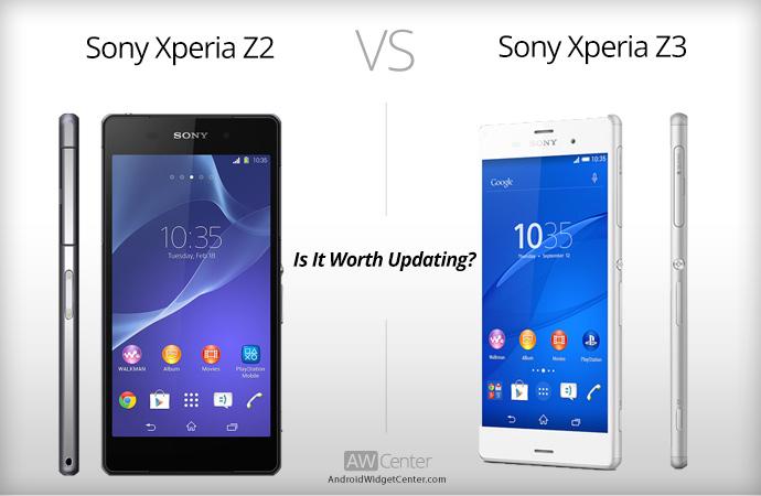 Xperia-Z3-vs-xperia-Z2