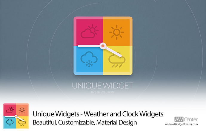 Unique-Widgets-Weather-Clock