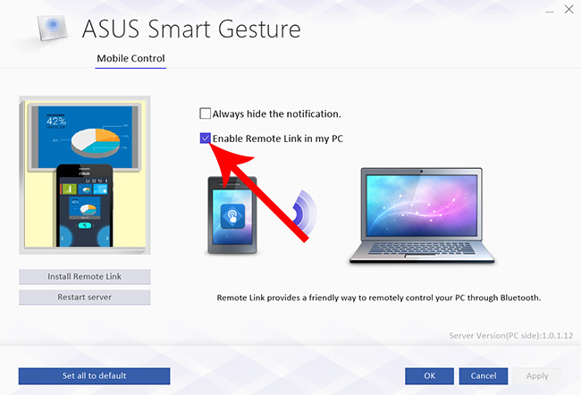 Control-a-PowerPoint-via-Bluetooth-or-Wi-Fi-ASUS-Smart-Gesture