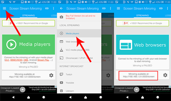 Share Android Screen with PC Over WiFi | Mirror without Root