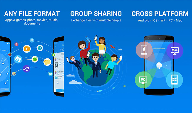 East-and-Fast-Cross-Platform-File-Sharing-Apps-for-Android