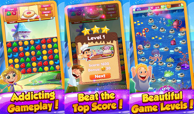 Cookie-Crush-Crazy-Android-Puzzle-Games