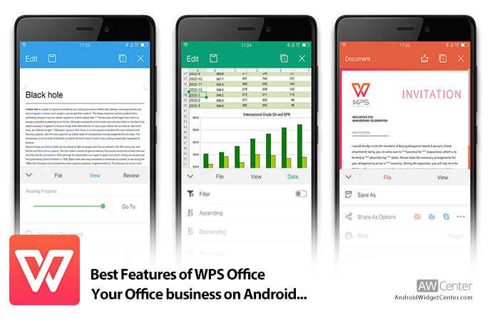 Best Features of WPS Office: Your Office Business on Android!