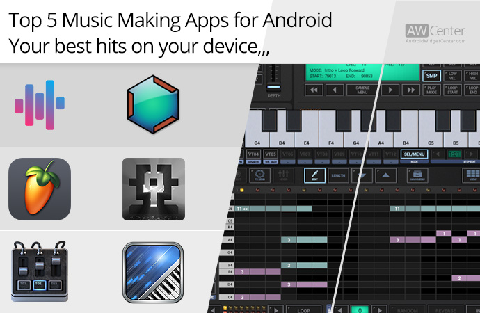 Song Making Apps : top 5 music making apps for android best hits on your device ~ Russianpoet.info Haus und Dekorationen