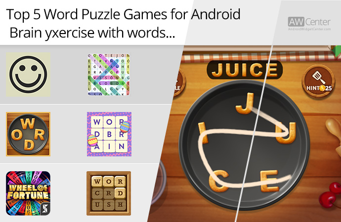 Top 5 Word Puzzle Games For Android Brain Exercise With Words