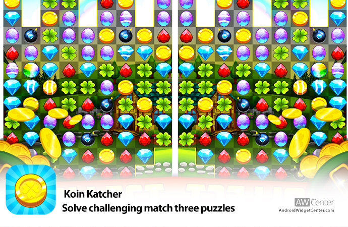 Koin-Katcher-Solve-challenging-match-three-puzzles