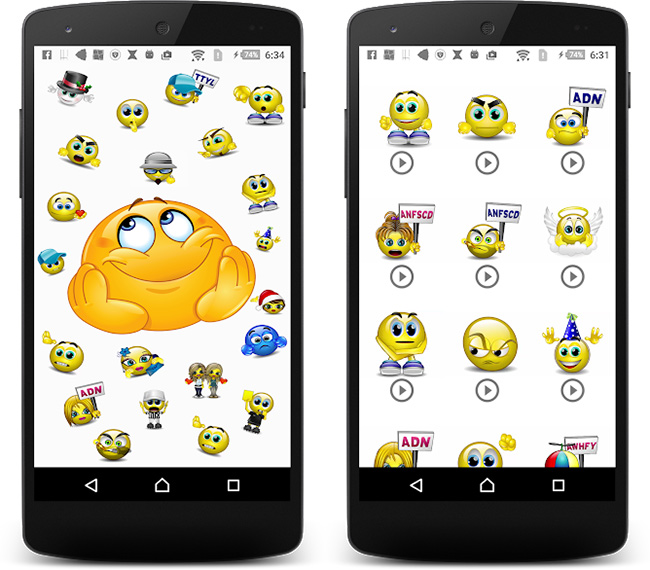 Download-Talking-Smileys-Free-Android