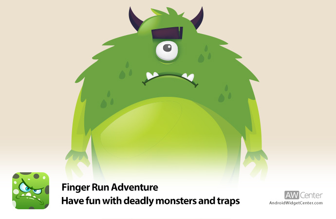 Finger-Run-Adventure-Have-fun-with-deadly-monsters-and-traps